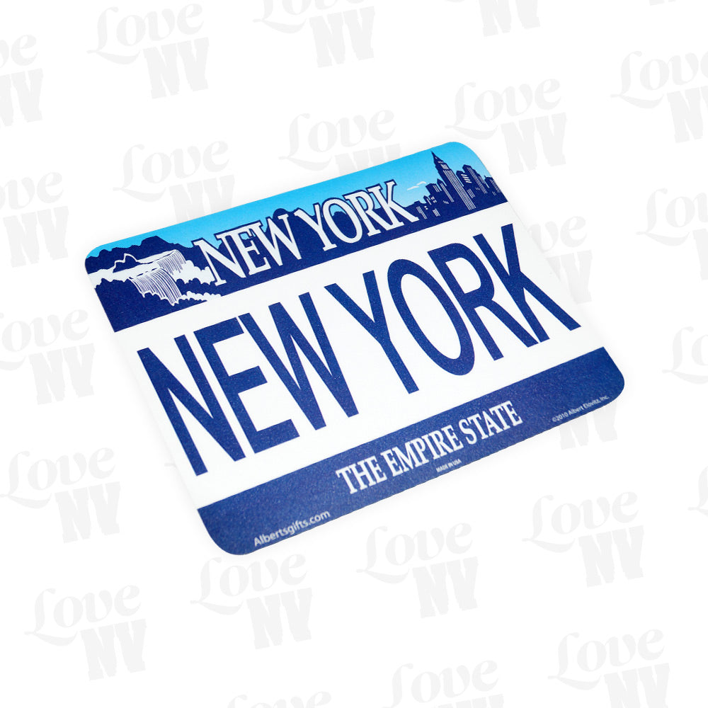 New York Empire State Kennzeichen Computer Mousepad