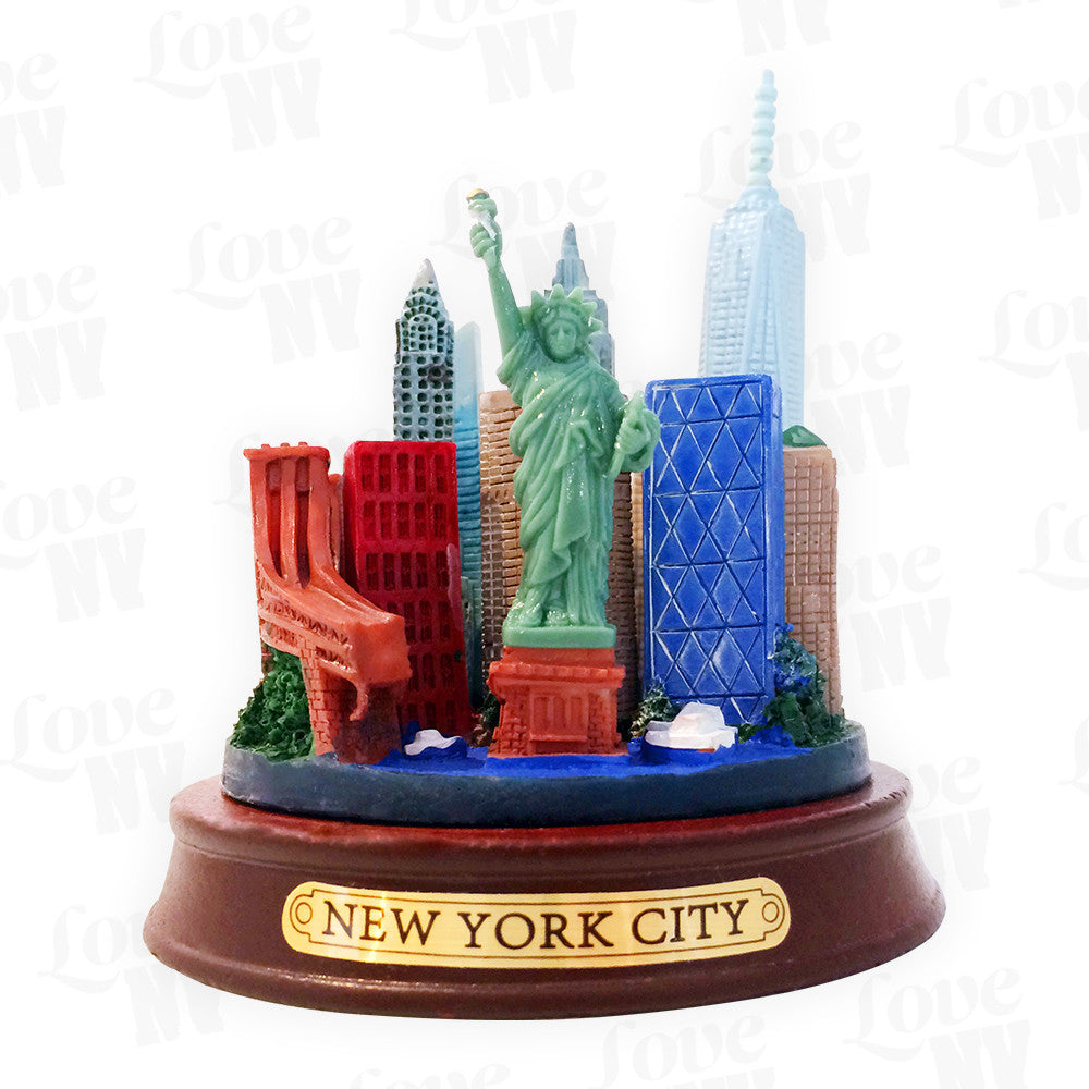 New York City Skyline Modell WTC One