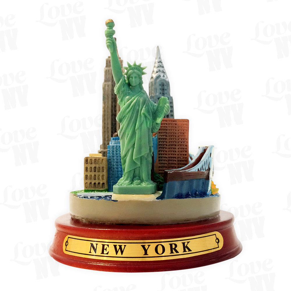New York City Skyline Modell Freiheitsstatue