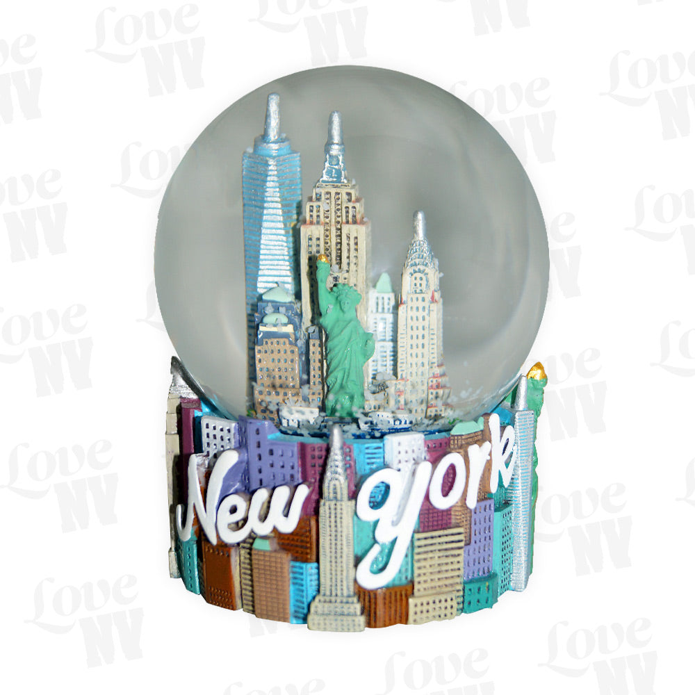 NEW YORK City Skyline Schneekugel Snowglobe XL 1