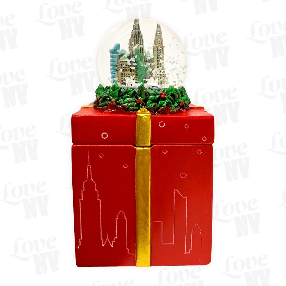 New York City Christmas Geschenkbox Schneekugel 1