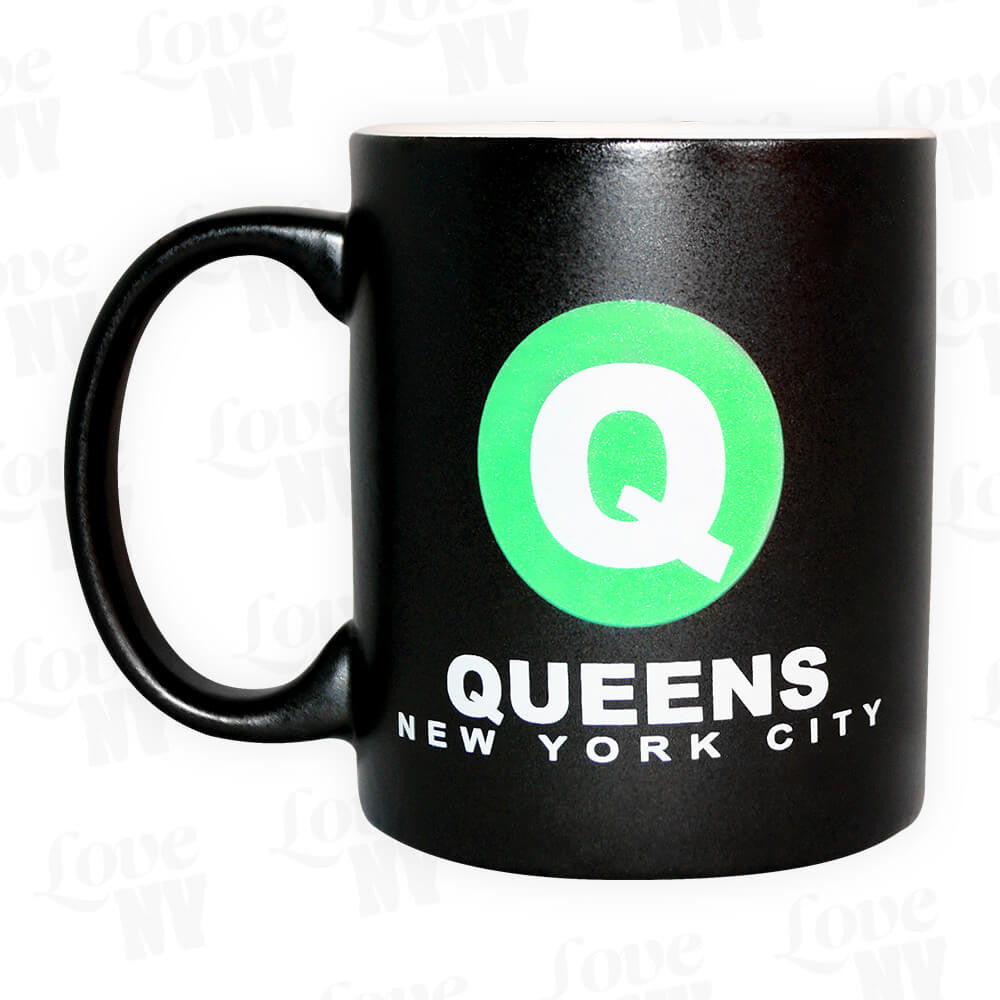 Queens Q New York City Tasse Kaffee Tee