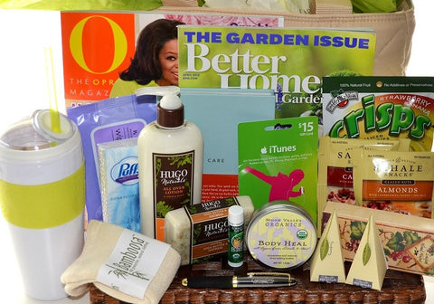 Get well gift baskets caregifting