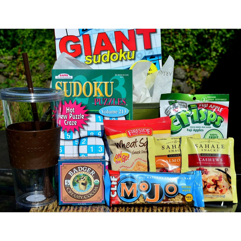 Get Well Gift Basket Sudoku-CareGifting
