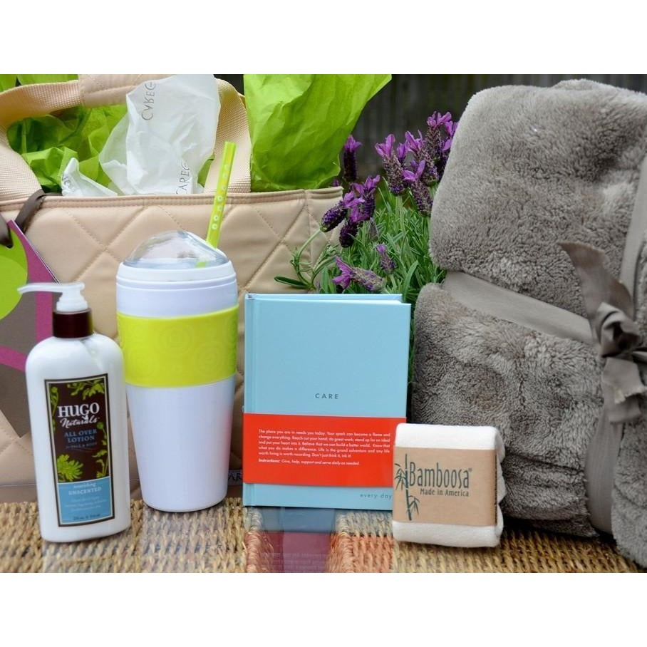 Care Blanket Get Well Gift Basket - CareGifting