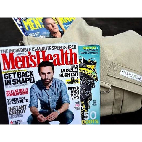 Men's Magazine After Surgery Gift Basket-CareGifting