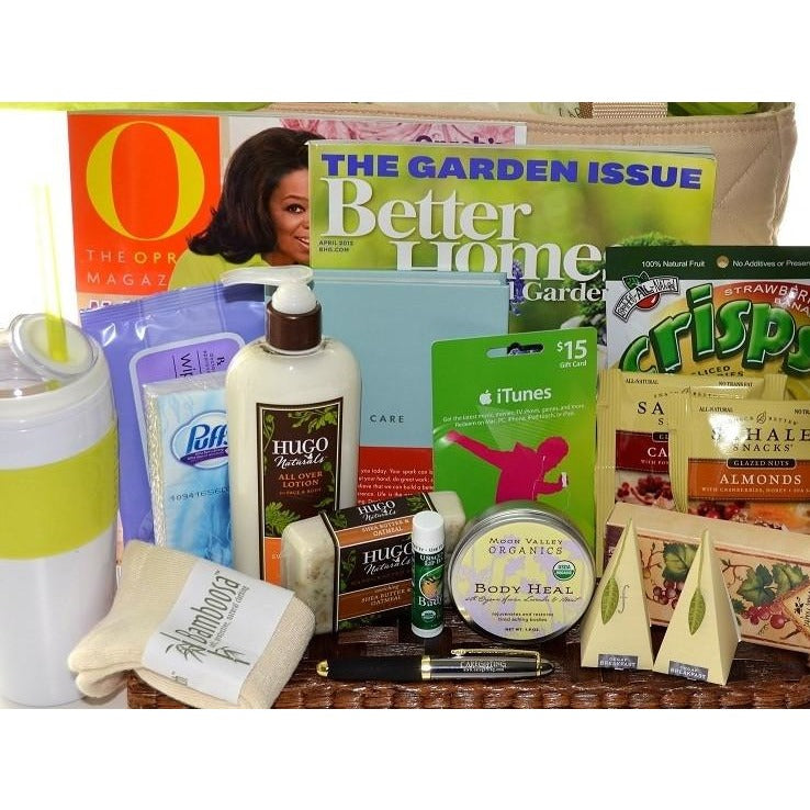 Get Well Gift Basket Women Super Comfort - CareGifting