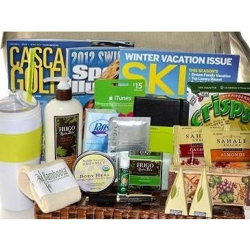 Get Well Gift Basket Men Deluxe Comfort-CareGifting