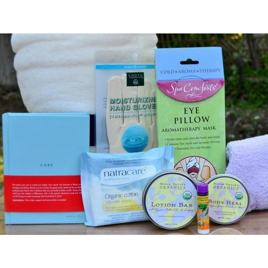 Pampering Get Well Gift Basket Women-CareGifting