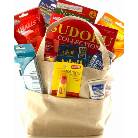 Cold N Flu Rescue Get Well Gift Basket-CareGifting