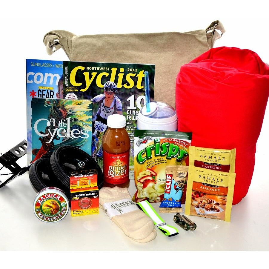 Get Well Gift Basket Bike Lover