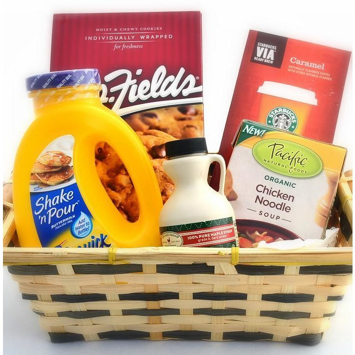 Get Well Care Gift Basket Comfort Food-CareGifting