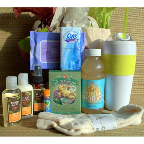 Ginger Rescue Cancer Patient Gift Basket-CareGifting