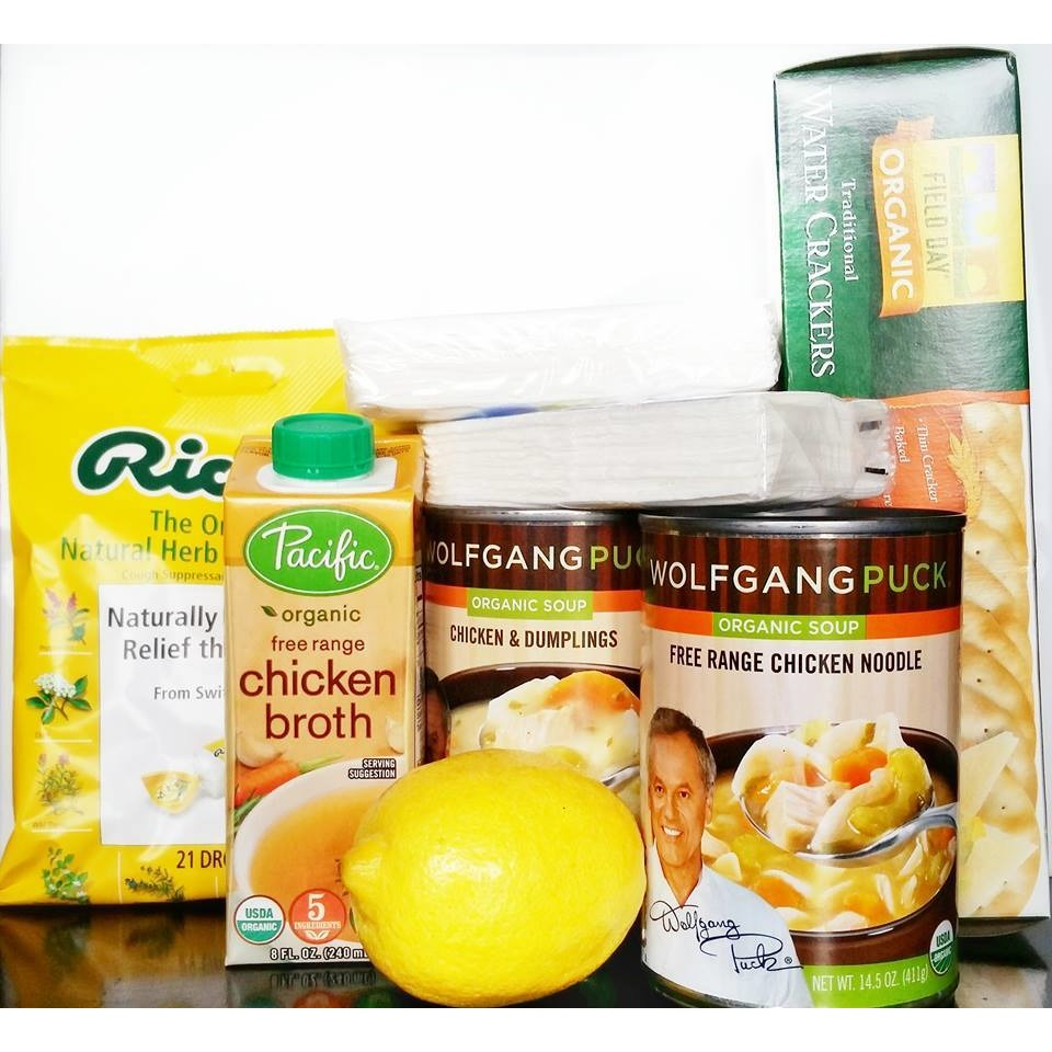 Chicken Soup Get Well Gift Basket-CareGifting