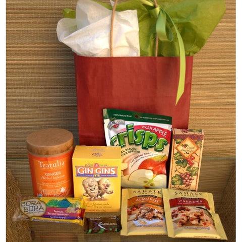 Get Well Care Gift Healthy Snack Basket