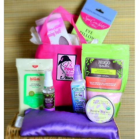 Get Well Care Gift Relax Spa Girl Basket
