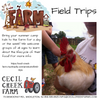Field Trips at CecilCreekFarm