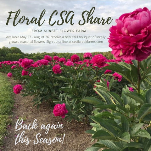 2021 CSA Floral Share