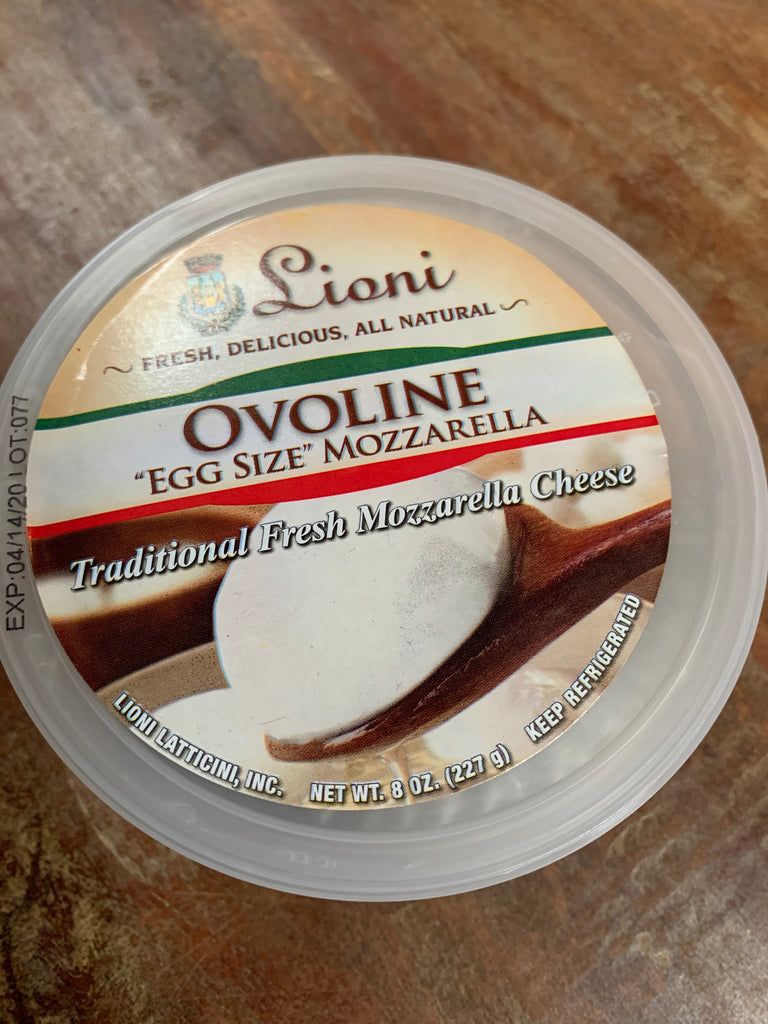 Dairy, Lioni Ovoline Mozzarella Cheese, 8oz