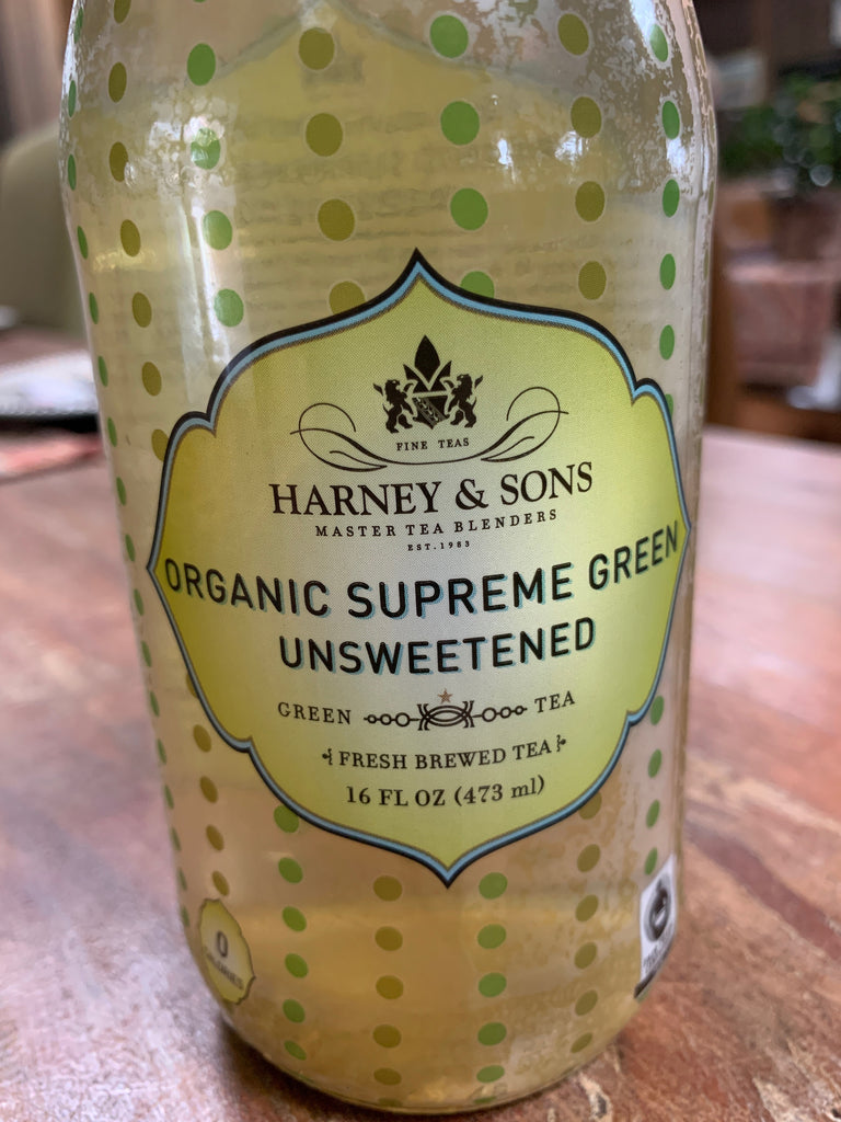 Tea, Harney & Sons Organic Supreme Green Tea, unsweetened,16oz