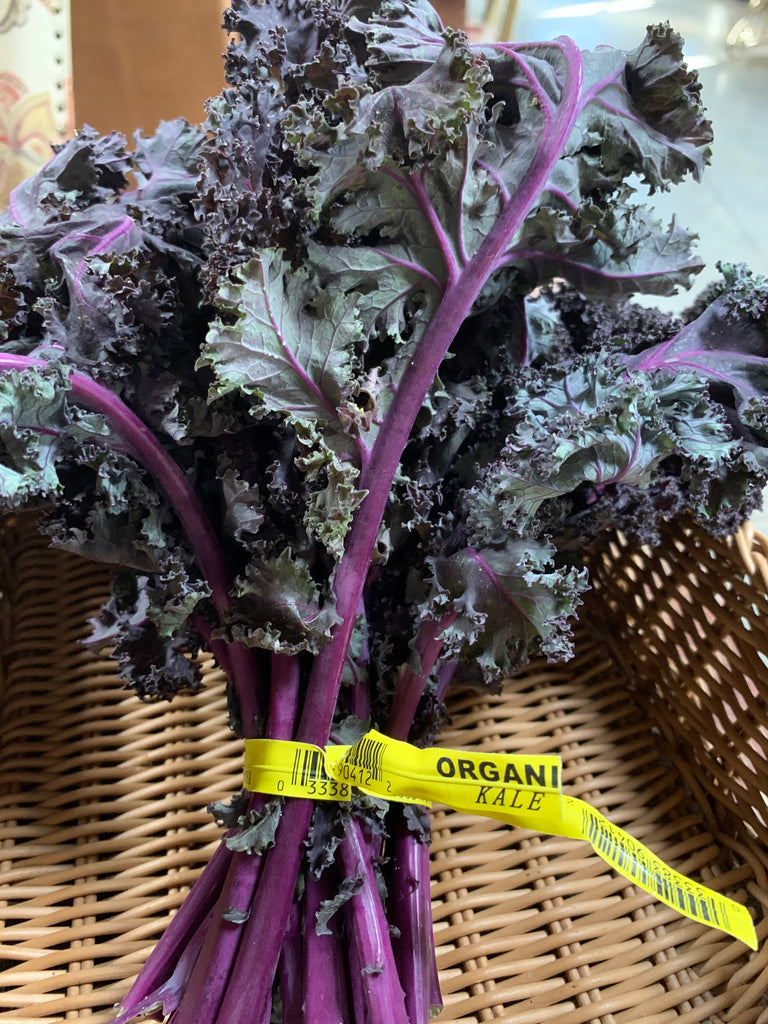 OSO Sweet Farms Organic Red Kale, 1 bunch
