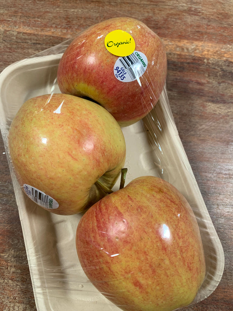 Grateful Harvest Gala Apples, 3 pack