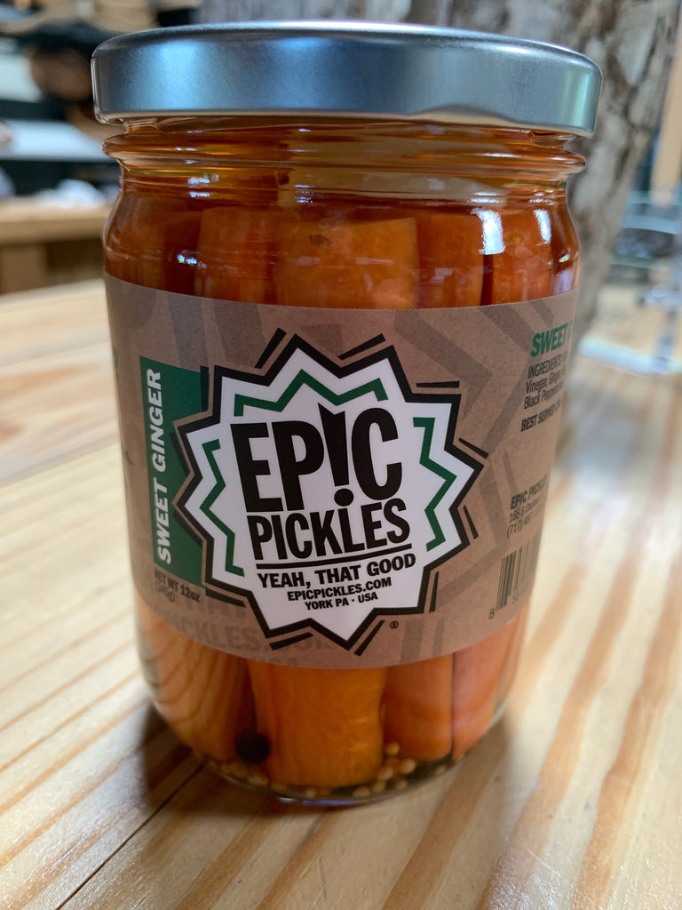 Epic Pickles, Sweet Ginger Carrots , 12oz.