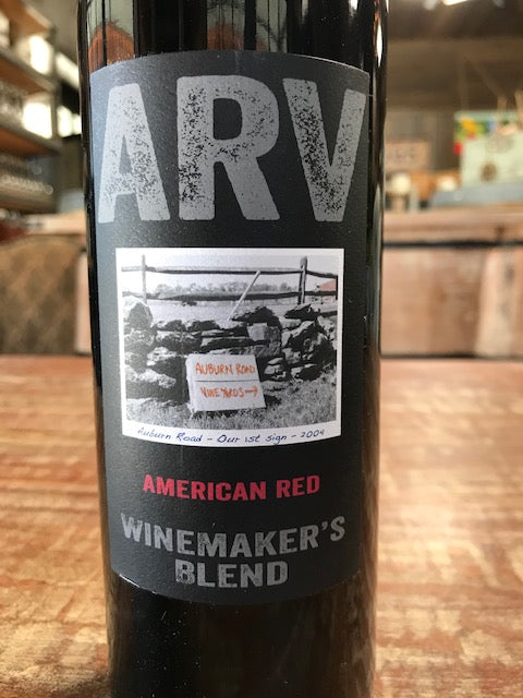 Wine, Auburn Road American Red