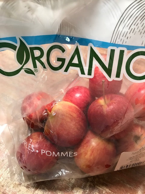 Fruit, Bagged Organic Gala Apples