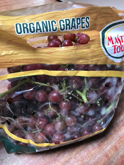 Fruit, Bagged Organic Red Grapes