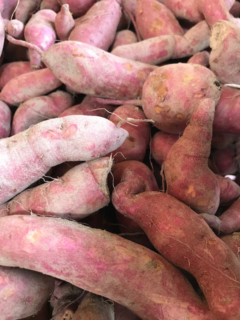 Produce, Cecil Creek Farm, Sweet Potatoes, 3 pounds bagged