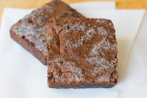 "Wild Flour Bakery, Ganache Brownie, individually wrapped (3""x3"")"