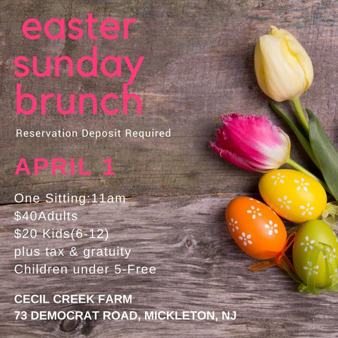 Easter Sunday Brunch at the Farm