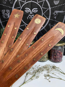 Mango Wood Incense Holder