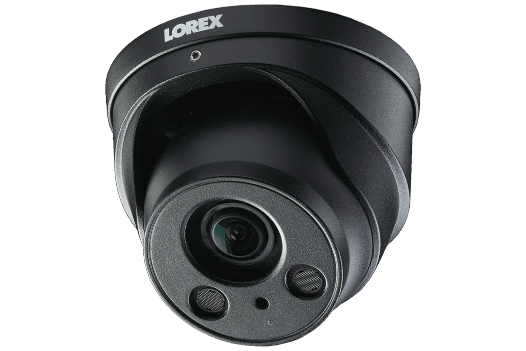 LOREX 4K Nocturnal IP NVR System with Four 4K (8MP) Motorized Zoom Lens Dome Cameras, 250FT Night Vision - Challenger Gadgets
