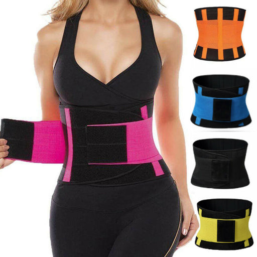 SweatFIT™ Adjustable Waist Slimming Trimmer - Challenger Gadgets