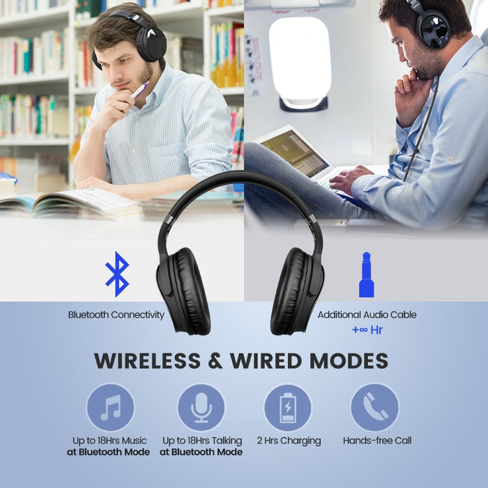Wireless Bluetooth Headphone - Challenger Gadgets