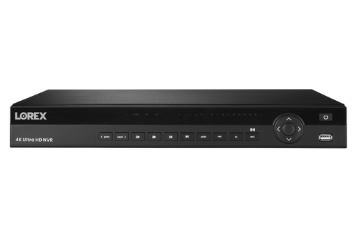 LOREX 4K Ultra HD 16-Channel Security NVR with Lorex Cloud Connectivity and 3TB Hard Drive - Challenger Gadgets