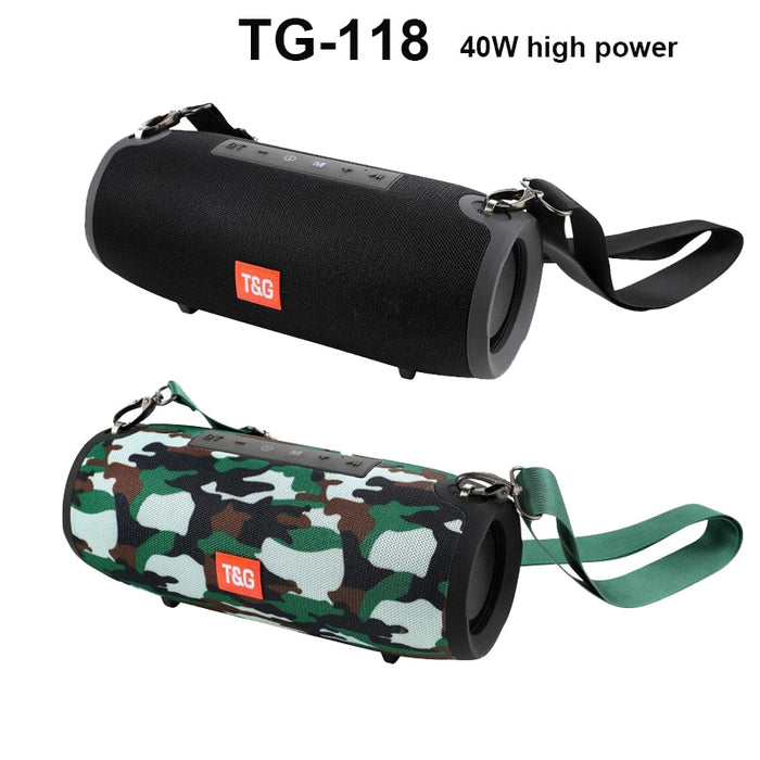 T & G High power 40W Bluetooth speaker - Challenger Gadgets