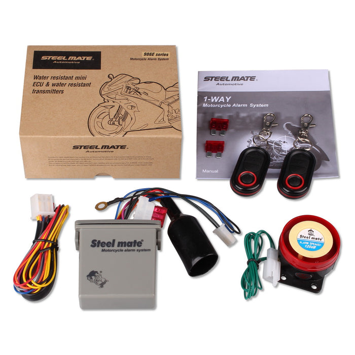 Motorcycle Alarm system - Challenger Gadgets