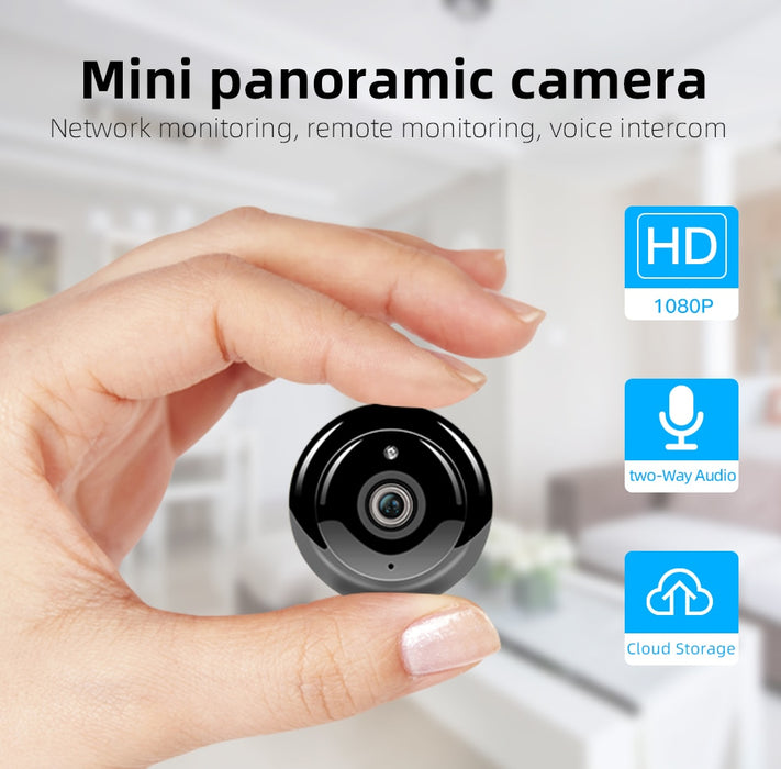 Wireless Mini WiFi Camera - Challenger Gadgets