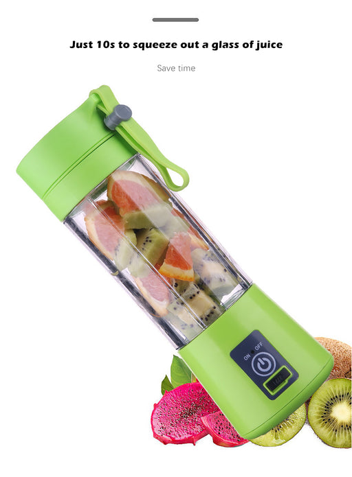 Portable Blender 2/4/6 Blades Mini Portable Electric Fruit Juicer - Challenger Gadgets