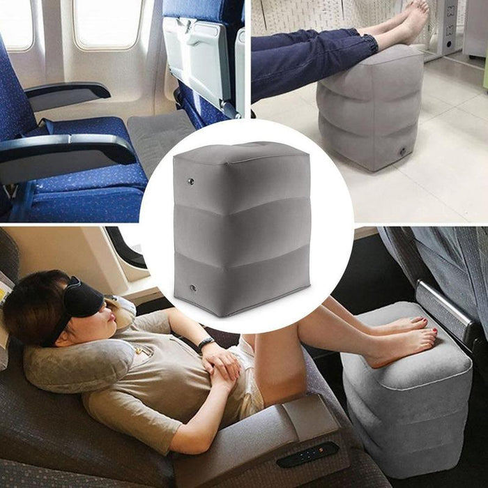 Inflatable Foot Rest Pillow - Challenger Gadgets