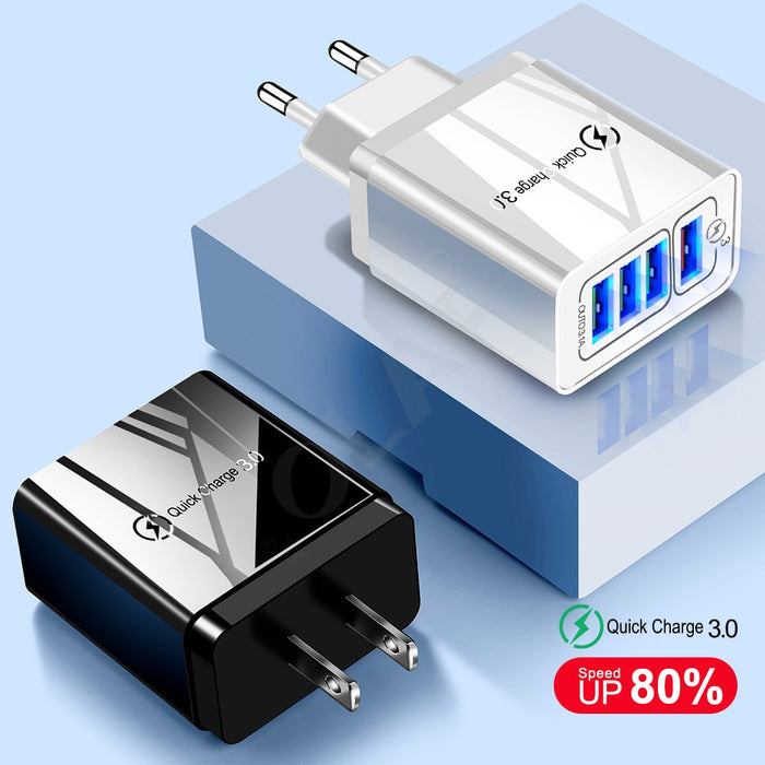 Quick  3.0 USB Charger - Challenger Gadgets