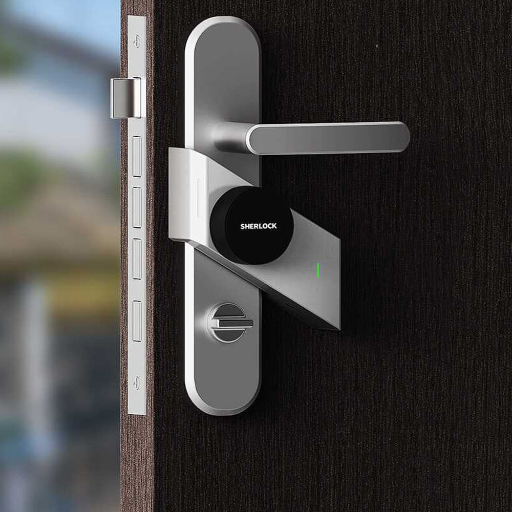 Sherlock  Fingerprint Smart Door Lock - Challenger Gadgets