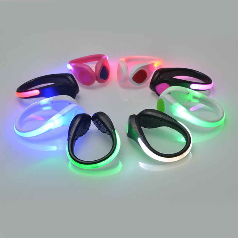 Multi-setting LED Safety Light Clip - Challenger Gadgets