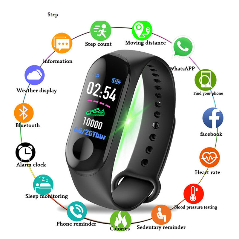 Smart Watch Sports Bracelet Multi Function - Challenger Gadgets