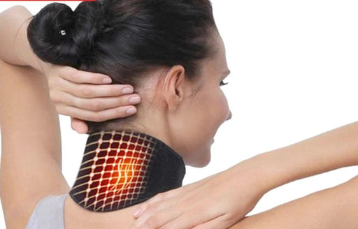 Tourmaline Self-heating Neck Belt  Massager - Challenger Gadgets