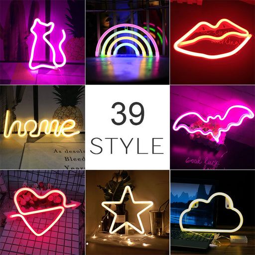 Fun Colorful Rainbow LED Neon Light - Challenger Gadgets