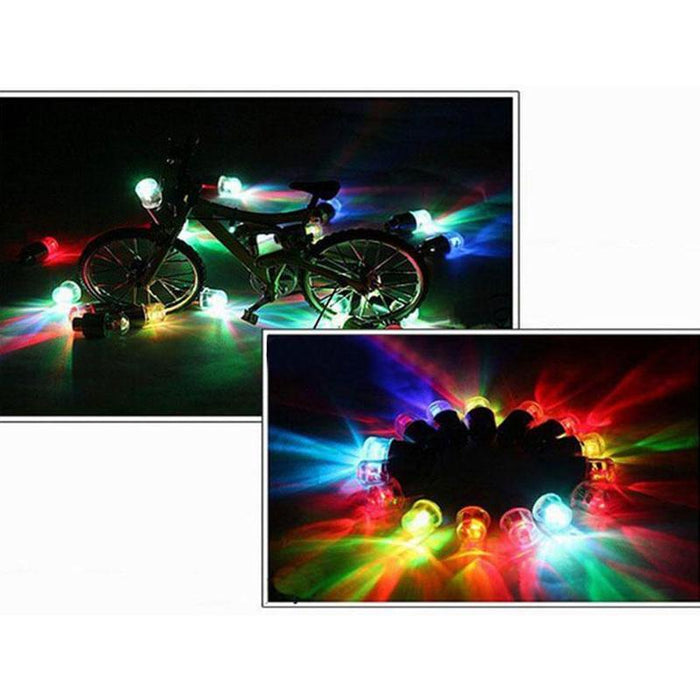 Universal Waterproof LED Light Lamp Valve Cap. Motorcycle/ CAR - Challenger Gadgets